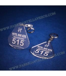 Llaveros Personalizados Gota Grande 3mm